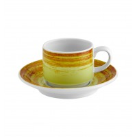 Mandarin - Chávena Café com Pires Emp. 9cl Green